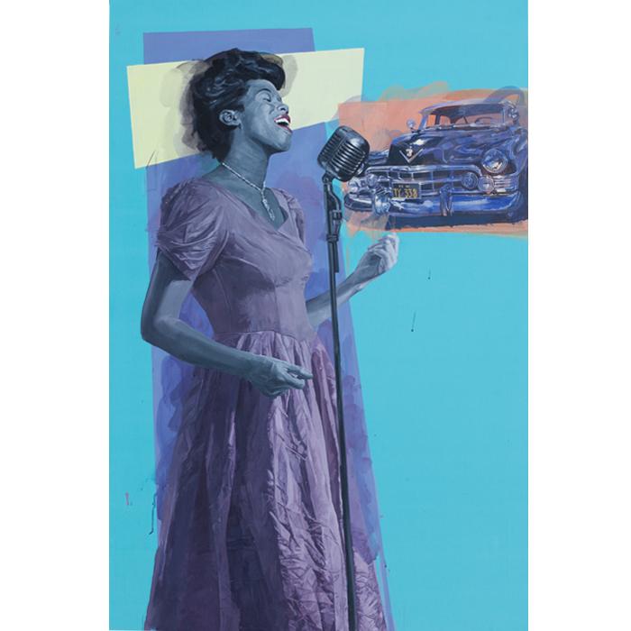 Sarah Vaughan -146 x 114cm
