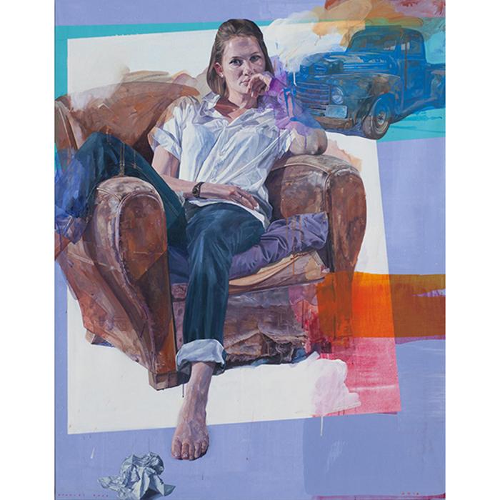Nathalie s-Letter - 146 x 114cm