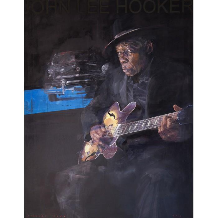 John-Lee-Hooker - 146 x 114cm